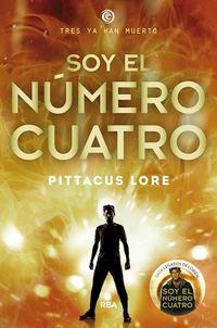 Libro SOY EL NUMERO CUATRO (LOS LEGADOS DE LORIEN #1)