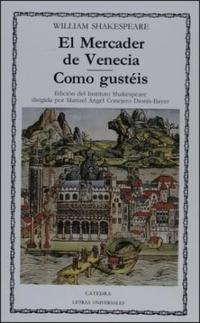 Libro EL MERCADER DE VENECIA / COMO GUSTEIS