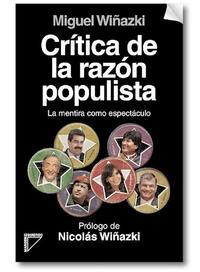 Libro CRITICA DE LA RAZON POPULISTA
