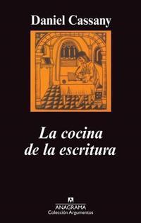 Libro LA COCINA DE LA ESCRITURA