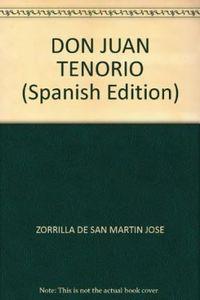 Libro DON JUAN TENORIO