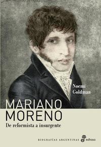 Libro MARIANO MORENO
