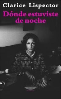 Libro DONDE ESTUVISTE DE NOCHE