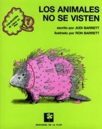 Libro LOS ANIMALES NO SE VISTEN
