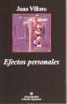 Libro EFECTOS PERSONALES