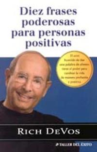Libro DIEZ FRASES PODEROSAS PARA PERSONAS POSITIVAS