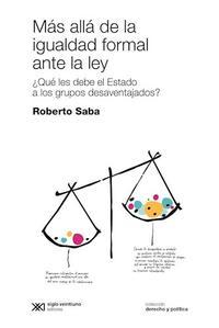 Libro MAS ALLA DE LA IGUALDAD FORMAL ANTE LA LEY