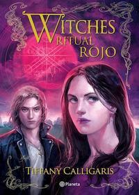 Libro WITCHES 4  RITUAL ROJO