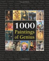 Libro 1000 PAINTINGS OF GENIUS