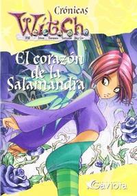 Libro WITCH  EL CORAZON DE LA SALAMANDRA