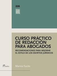 Libro CURSO PRACTICO DE REDACCION PARA ABOGADOS