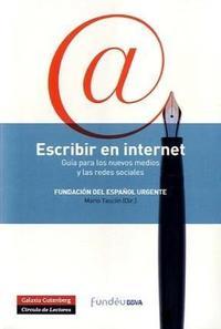 Libro ESCRIBIR EN INTERNET