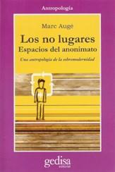 Libro LOS NO LUGARES ESPACIOS DEL ANONIMATO