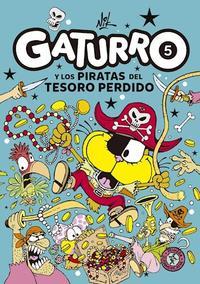 Libro 5. GATURRO Y LOS PIRATAS DEL TESORO PERDIDO