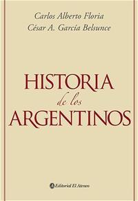 Libro HISTORIA DE LOS ARGENTINOS