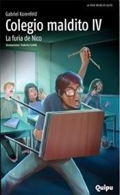 Libro COLEGIO MALDITO IV