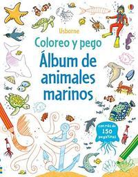Libro ALBUM DE ANIMALES MARINOS