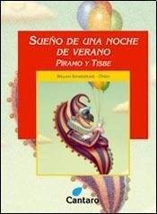 Libro SUEÑO DE UNA NOCHE DE VERANO / PIRAMO Y TISBE