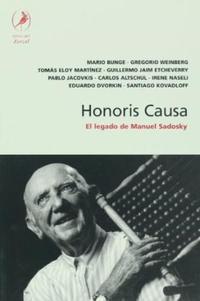 Libro HONORIS CAUSA