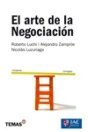 Libro EL ARTE DE LA NEGOCIACION