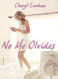 Libro NO ME OLVIDES