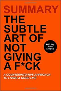 Libro THE SUBTLE ART OF NOT GIVING A F*CK