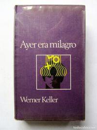 Libro AYER ERA MILAGRO