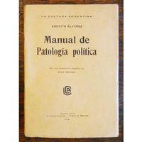 Libro MANUAL DE PATOLOGÍA POLÍTICA