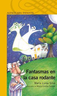 Libro FANTASMAS EN LA CASA RODANTE
