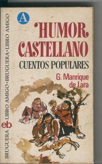 Libro HUMOR CASTELLANO. CUENTOS POPULARES.