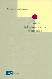 Libro HISTORIA DEL PENSAMIENTO ECONÓMICO