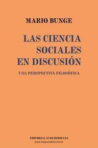 Libro LAS CIENCIAS SOCIALES EN DISCUSION