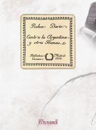 Libro CANTO A LA ARGENTINA Y OTROS POEMAS