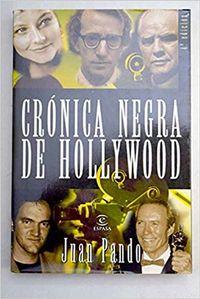 Libro CRONICA NEGRA DE HOLLYWOOD
