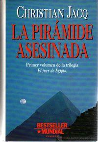 Libro LA PIRAMIDE ASESINADA