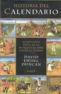 Libro HISTORIA DEL CALENDARIO