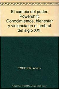 Libro EL CAMBIO DEL PODER