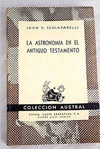 Libro LA ASTRONOMÍA EN EL ANTIGUO TESTAMENTO