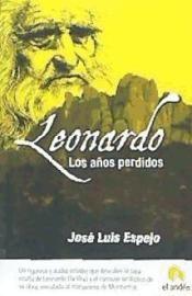 Libro LEONARDO, LOS AÑOS PERDIDOS