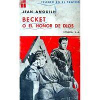 Libro BECKET O EL HONOR DE DIOS