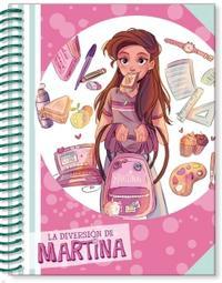 Libro LIBRETA DE LA DIVERSIÓN DE MARTINA (ROSA) (LA DIVERSIÓN DE MARTINA)