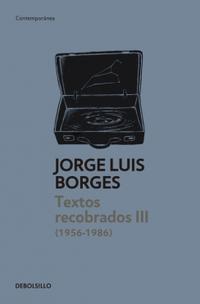 Libro TEXTOS RECOBRADOS 1935-1955