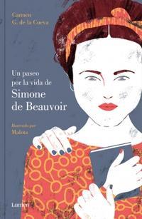 Libro UN PASEO POR LA VIDA DE SIMONE DE BEAUVOIR