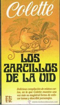 Libro LOS ZARCILLOS DE LA VID