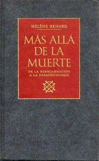 Libro MAS ALLA DE LA MUERTE
