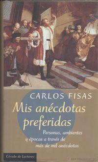 Libro MIS ANECDOTAS PREFERIDAS