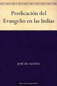 Libro PREDICACIÓN DEL EVANGELIO EN LAS INDIAS