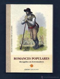 Libro ROMANCES POPULARES