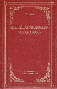 Libro SOBRE LA NATURALEZA DIOSES