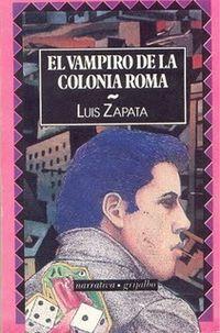 Libro EL VAMPIRO DE LA COLONIA ROMA